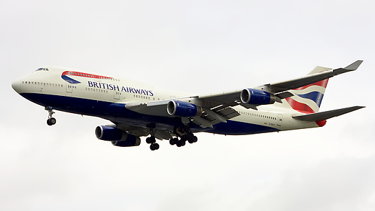G-BNLR ✈ British Airways Boeing 747-436