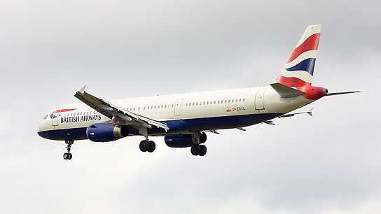 G-EUXL ✈ British Airways Airbus A321-231