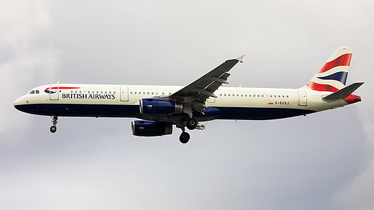G-EUXJ ✈ British Airways Airbus A321-231