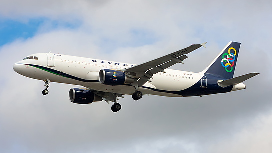 SX-OAT ✈ Olympic Air Airbus A320-214
