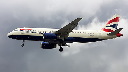 G-EUUA ✈ British Airways Airbus A320-232