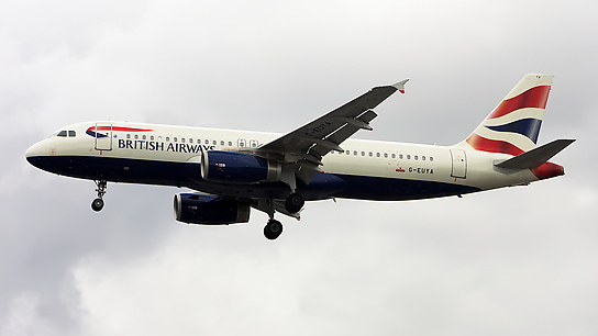 G-EUYA ✈ British Airways Airbus A320-232