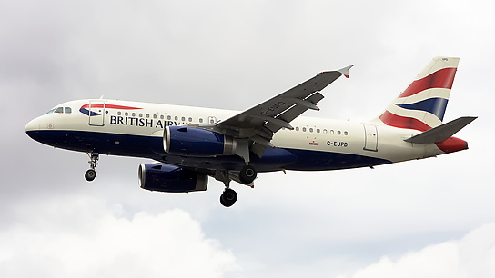 G-EUPD ✈ British Airways Airbus A319-131
