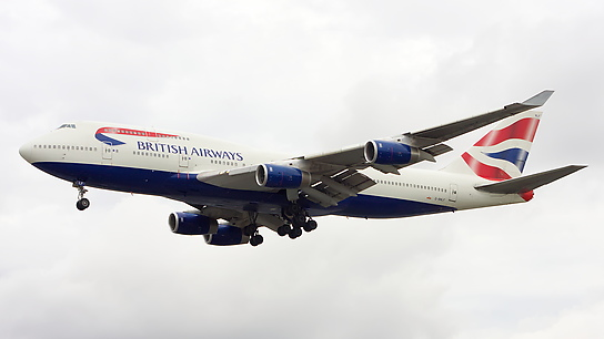 G-BNLF ✈ British Airways Boeing 747-436
