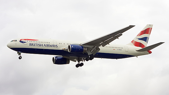 G-BNWZ ✈ British Airways Boeing 767-336ER