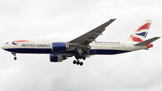 G-YMMK ✈ British Airways Boeing 777-236ER