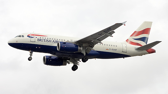 G-EUOF ✈ British Airways Airbus A319-131