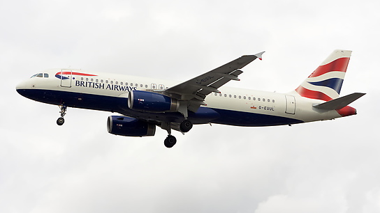 G-EUUL ✈ British Airways Airbus A320-232