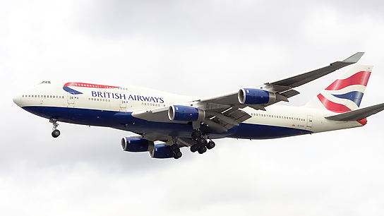 G-CIVY ✈ British Airways Boeing 747-436