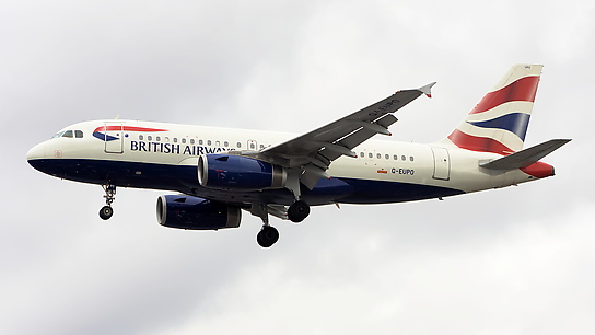 G-EUPO ✈ British Airways Airbus A319-132