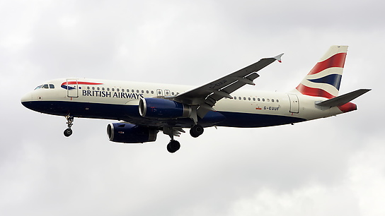 G-EUUF ✈ British Airways Airbus A320-232