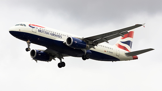 G-EUUS ✈ British Airways Airbus A320-232
