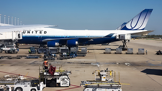 N180UA ✈ United Airlines Boeing 747-422