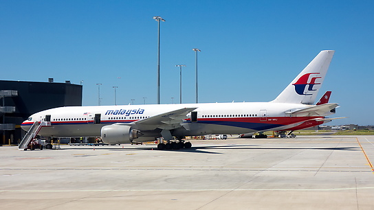 9M-MRJ ✈ Malaysia Airlines Boeing 777-2H6ER