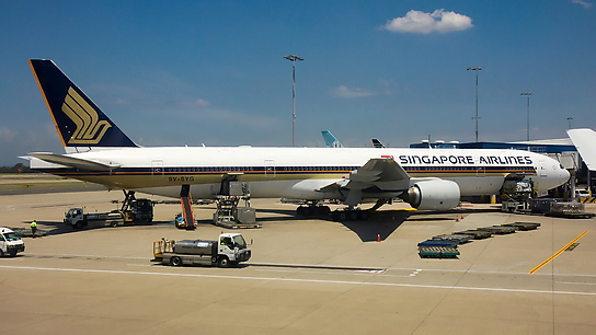 9V-SYG ✈ Singapore Airlines Boeing 777-312
