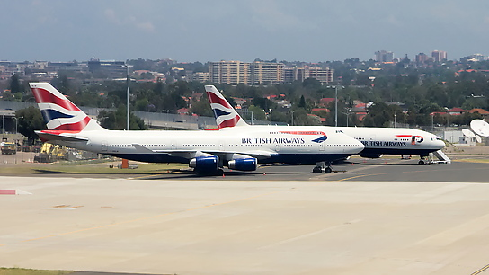 G-BNLM ✈ British Airways Boeing 747-436
