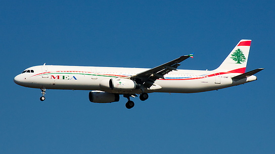 F-ORMF ✈ Middle East Airlines Airbus A321-231