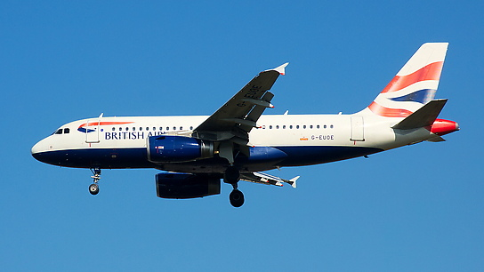 G-EUOE ✈ British Airways Airbus A319-131