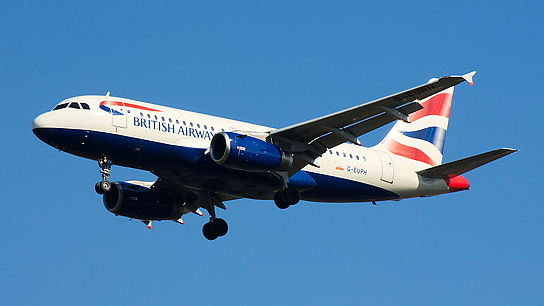 G-EUPH ✈ British Airways Airbus A319-131