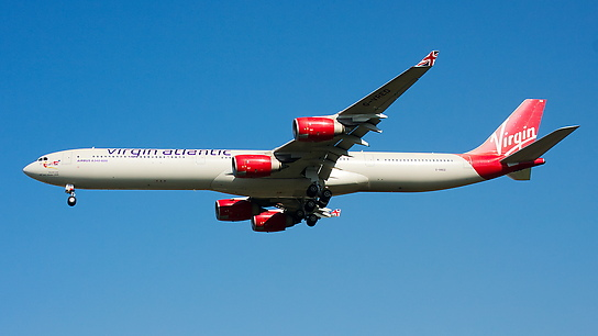 G-VRED ✈ Virgin Atlantic Airways Airbus A340-642