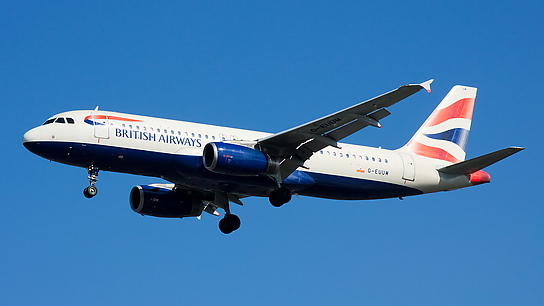 G-EUUM ✈ British Airways Airbus A320-232
