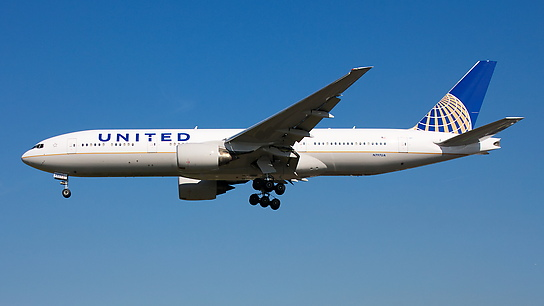 N797UA ✈ United Airlines Boeing 777-222ER