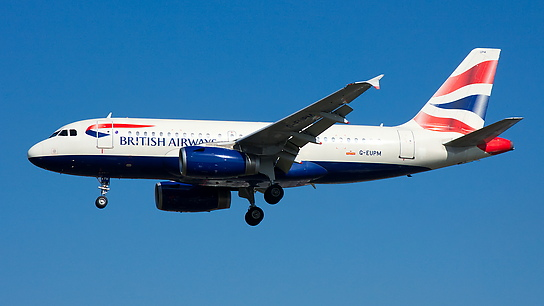 G-EUPM ✈ British Airways Airbus A319-131