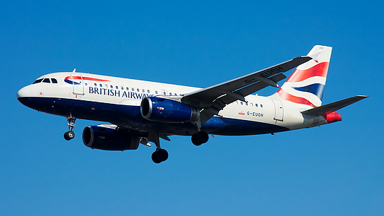 G-EUOH ✈ British Airways Airbus A319-131
