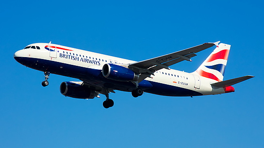 G-EUUW ✈ British Airways Airbus A320-232