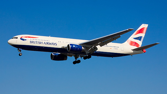G-BZHA ✈ British Airways Boeing 767-336ER