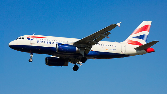 G-EUPP ✈ British Airways Airbus A319-131