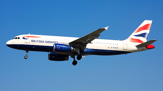 G-EUUH ✈ British Airways Airbus A320-232