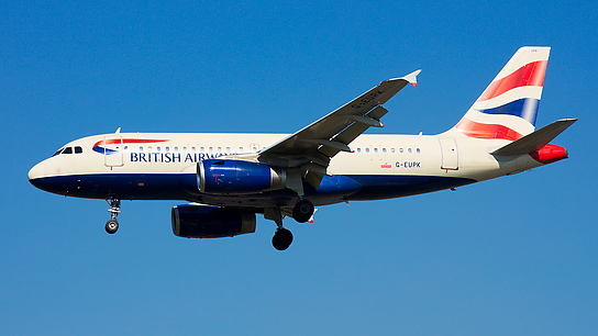 G-EUPK ✈ British Airways Airbus A319-131