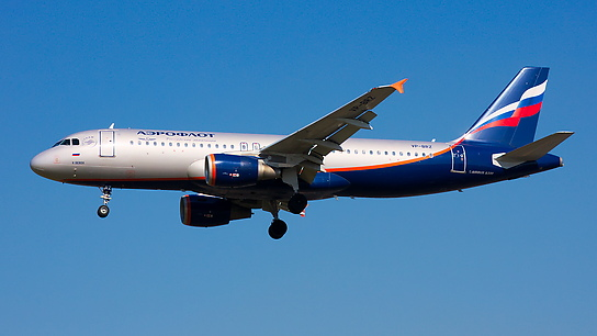 VP-BRZ ✈ Aeroflot Russian Airlines Airbus A320-214