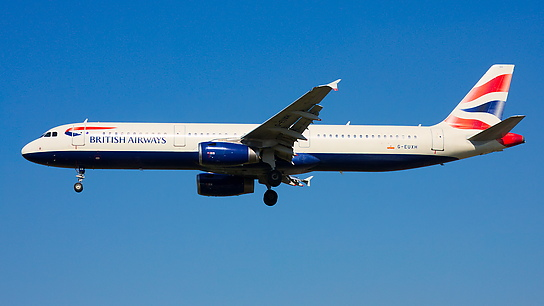 G-EUXH ✈ British Airways Airbus A321-231