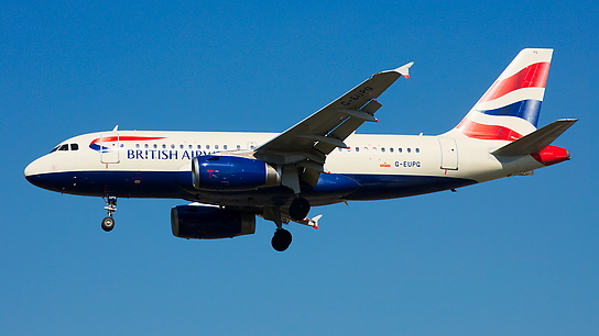 G-EUPG ✈ British Airways Airbus A319-131