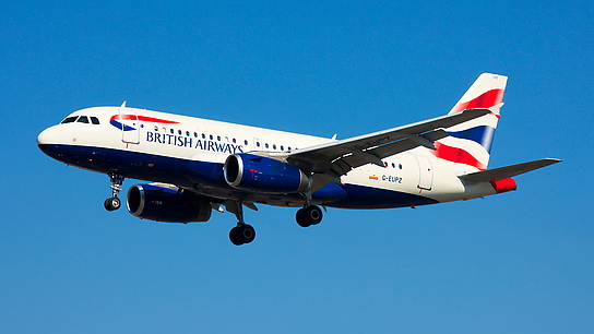 G-EUPZ ✈ British Airways Airbus A319-131
