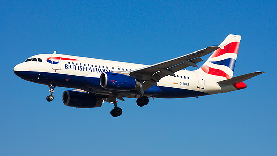 G-EUPR ✈ British Airways Airbus A319-131