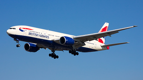 G-YMME ✈ British Airways Boeing 777-236ER