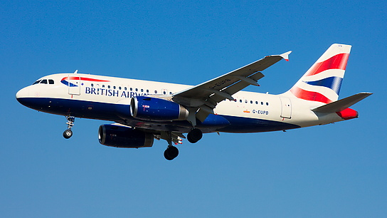 G-EUPB ✈ British Airways Airbus A319-131