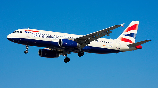 G-EUUY ✈ British Airways Airbus A320-232