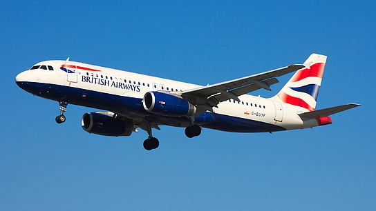 G-EUYF ✈ British Airways Airbus A320-232