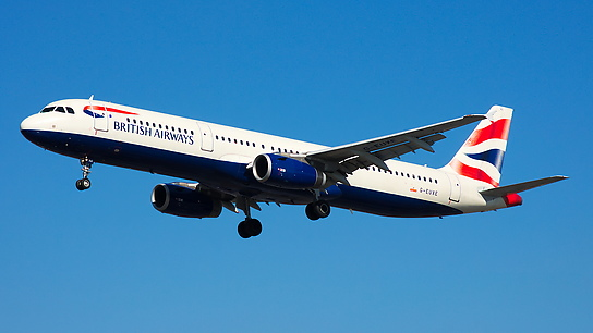 G-EUXE ✈ British Airways Airbus A321-231