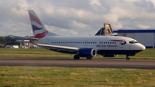 G-GFFF ✈ British Airways Boeing 737-53A