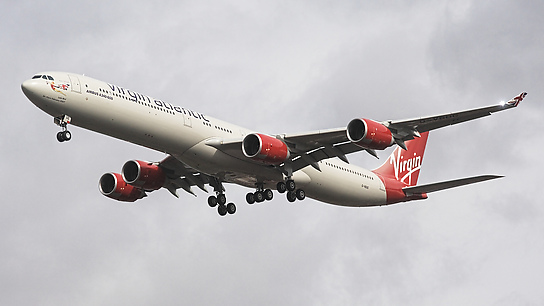 G-VBUG ✈ Virgin Atlantic Airways Airbus A340-642 HGW