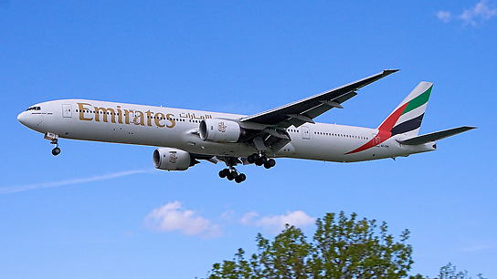 A6-EMU ✈ Emirates Airline Boeing 777-31H