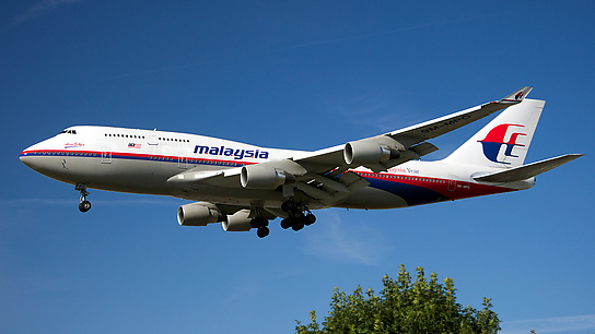 9M-MPO ✈ Malaysia Airlines Boeing 747-4H6