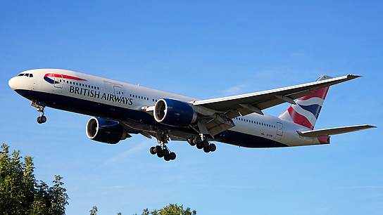 G-VIIN ✈ British Airways Boeing 777-236ER