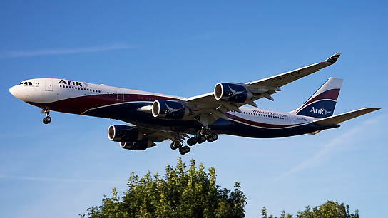 CS-TFX ✈ Arik Air Airbus A340-542