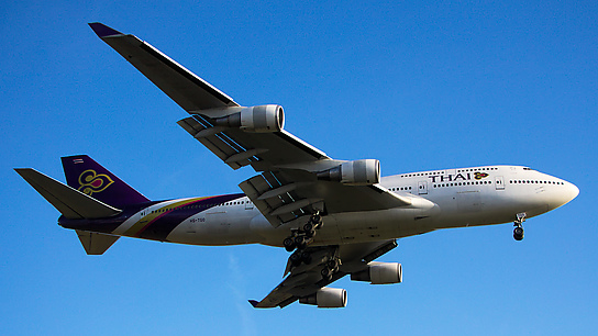 HS-TGO ✈ Thai Airways International Boeing 747-4D7